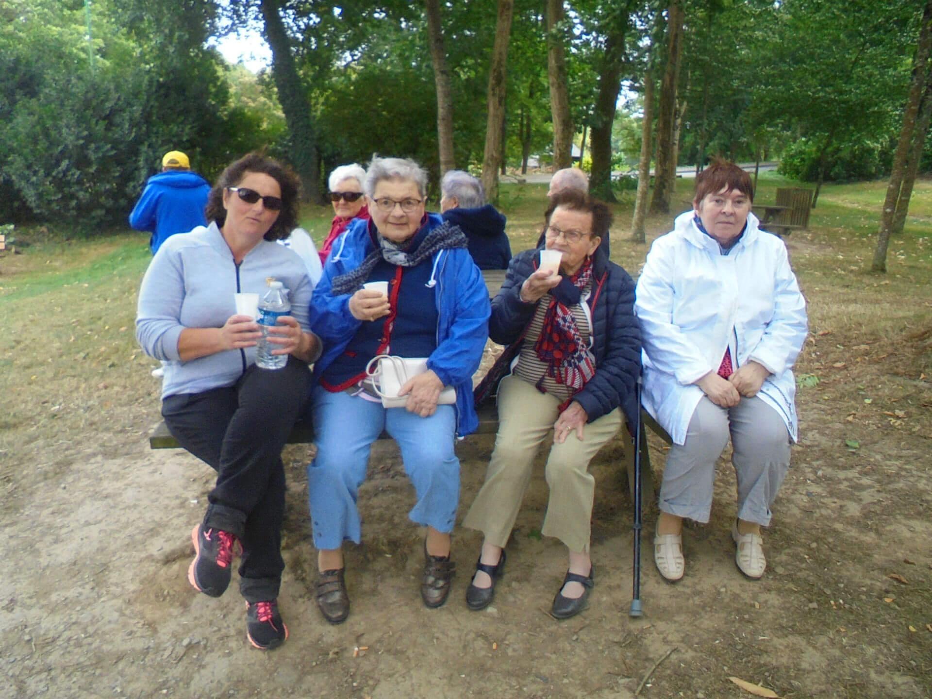 Pique-nique et balade au lac au duc à Ploërmel - le 5 septembre