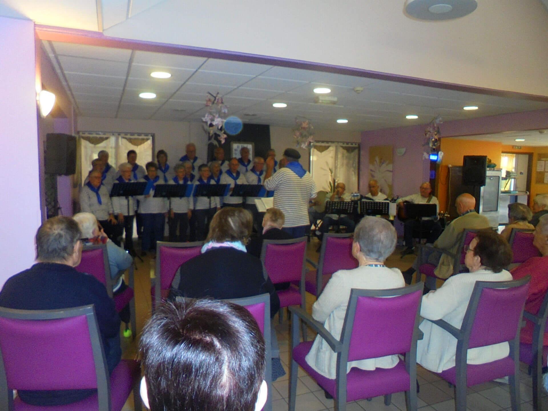 Chorale des bateliers de Célac - le 26 septembre