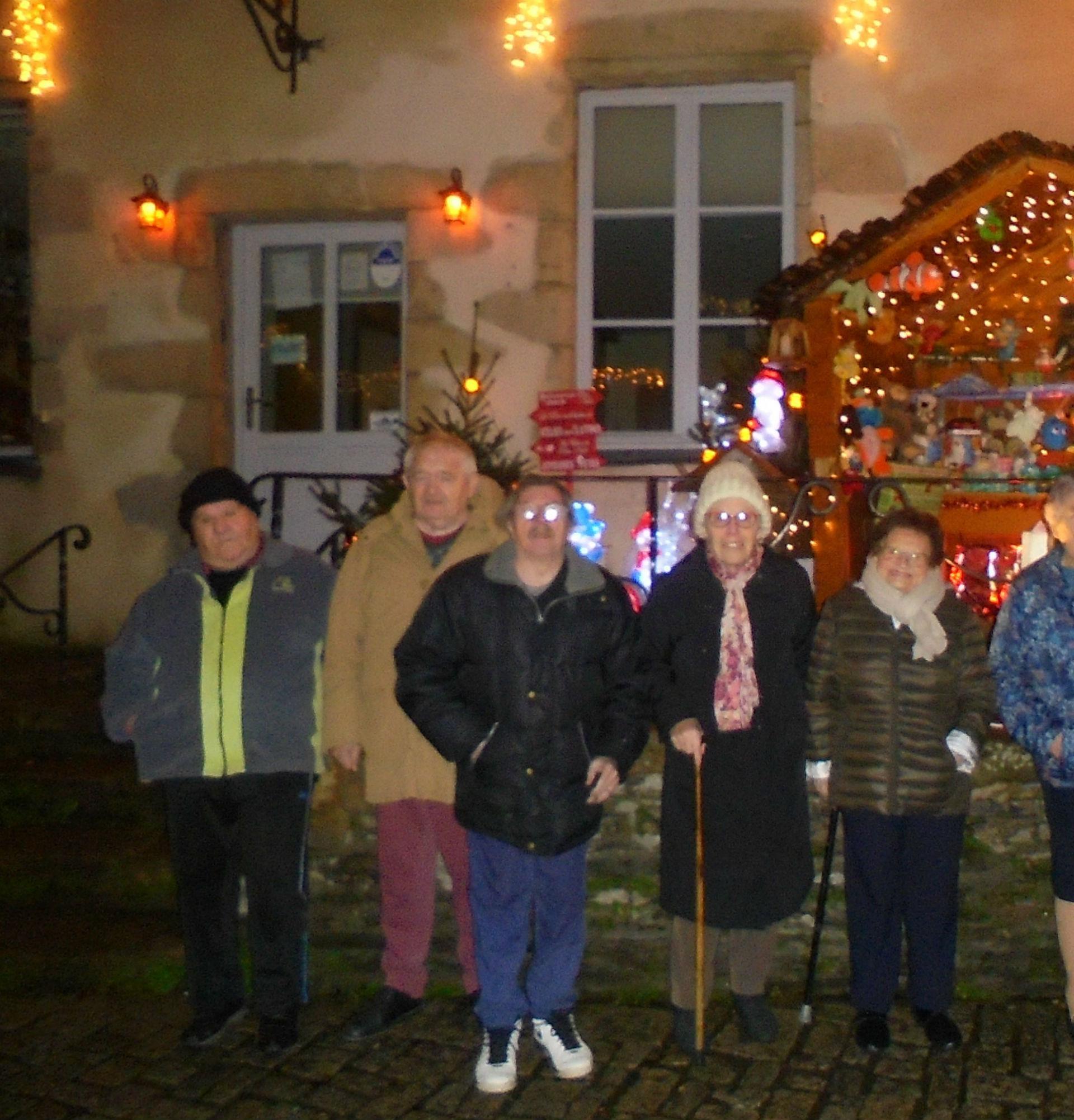 Sortie à Rochefort en Terre - le 11 décembre