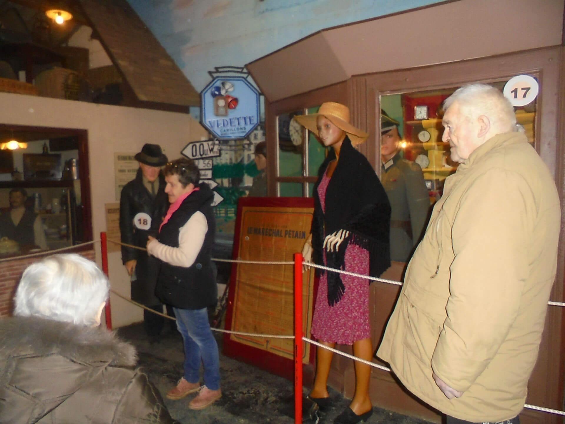 Visite du musée des sanglots longs à Réguiny - le 20 février