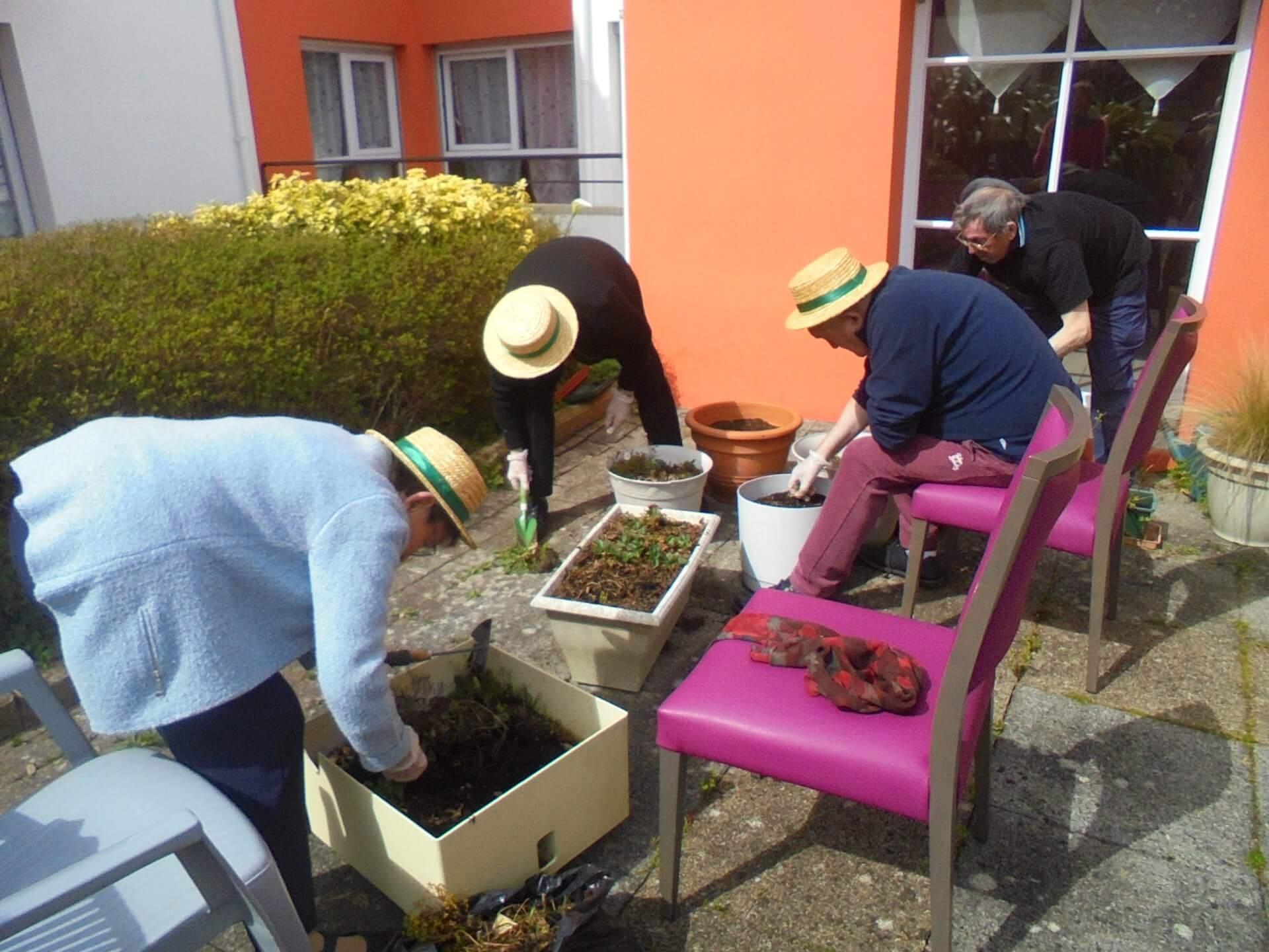 Jardinage - le 8 avril