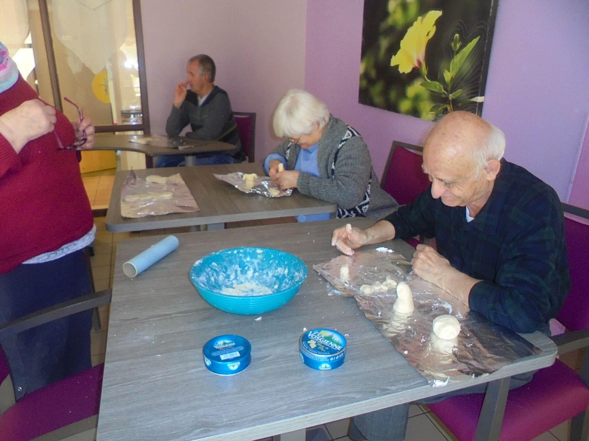 Atelier pâte à sel - le 23 avril