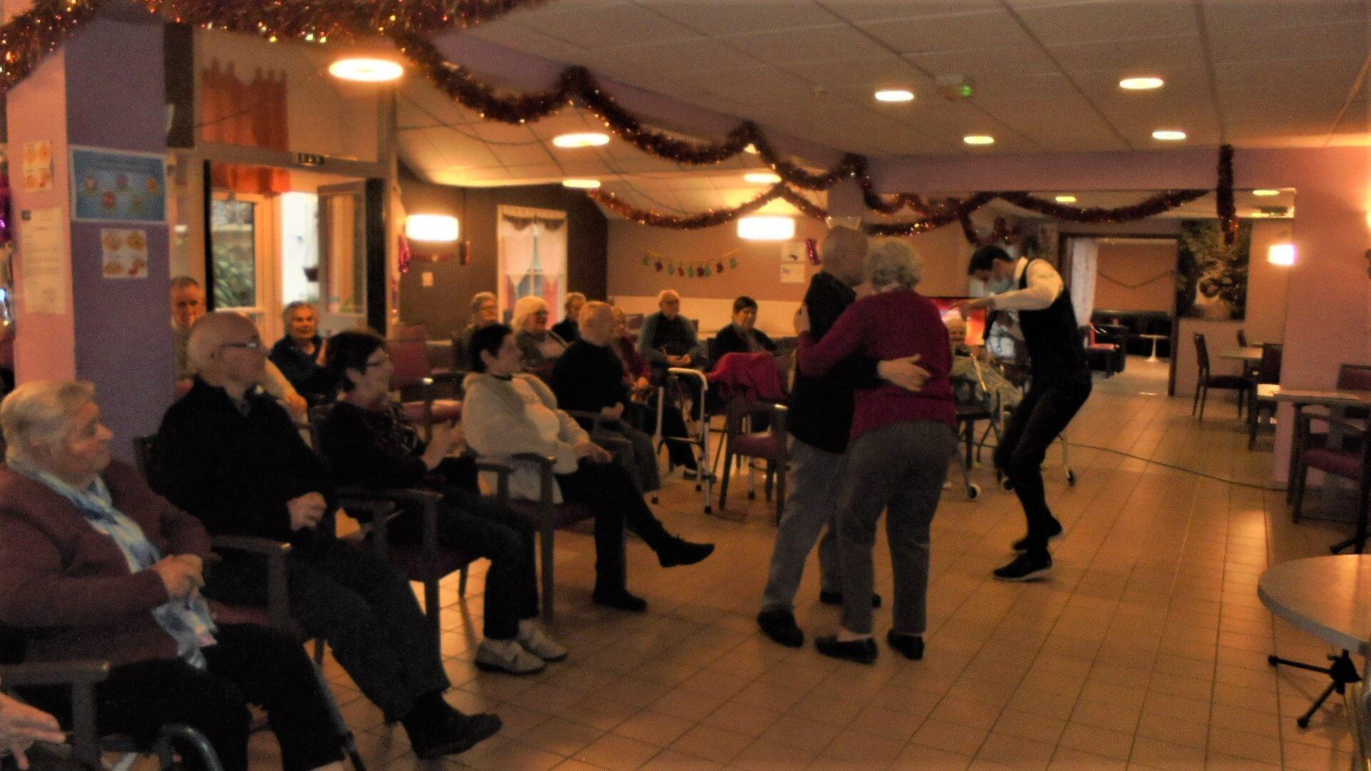 Spectacle Mickael chante vos souvenirs - le 21 décembre