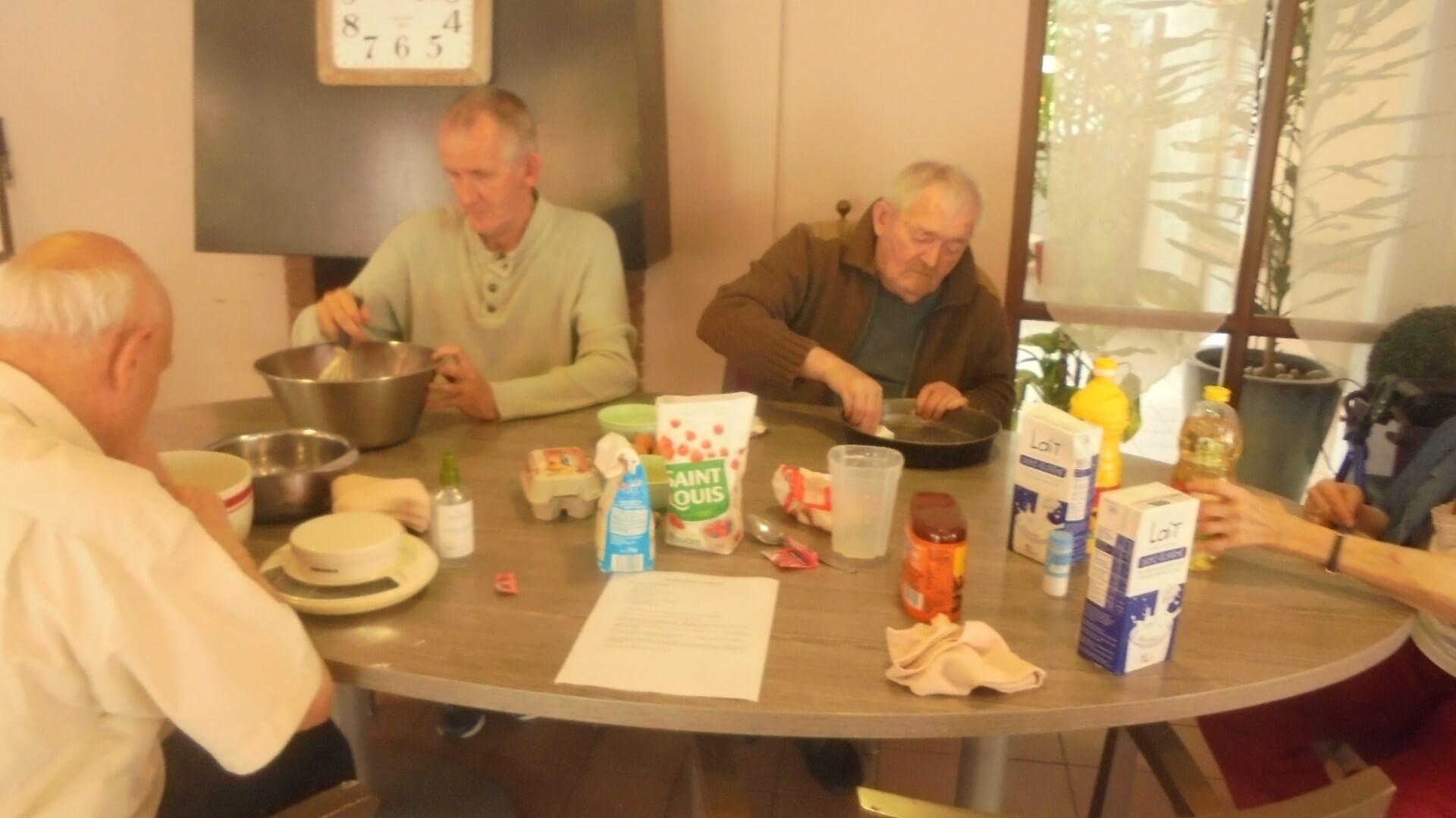 Atelier cuisine - le 02 Juin 2021