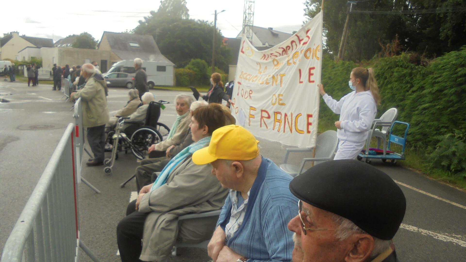 Passage du tour de France - le 28 juin 2021