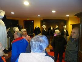 Visite du musée du costume breton à Sérent - le 13 mars