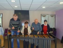 Spectacle de solo marimba - le 11 avril