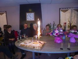 100 ans de Madame Launay Germaine - le 28 février